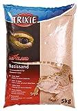 TRIXIE Arena básica para Terrarios, 5 kg, Amarilla, Reptile