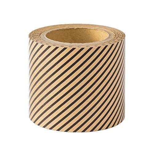 デザインフィル ミドリ クラフトテープ 彩る ピンストライプ柄 82476006