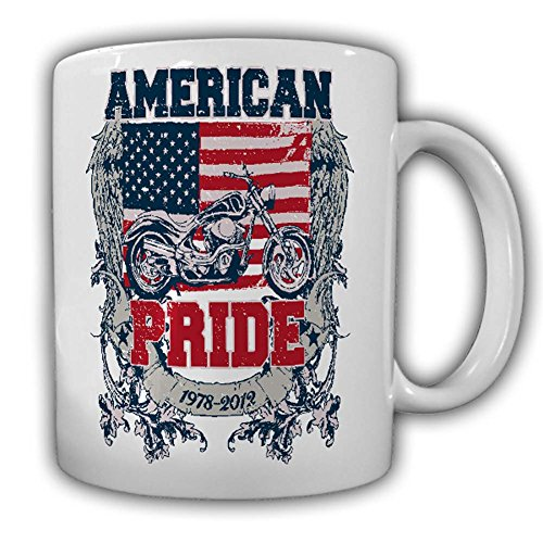 American Pride Cup Biker Rocker motorkleding Chopper USA vrijheid #25120