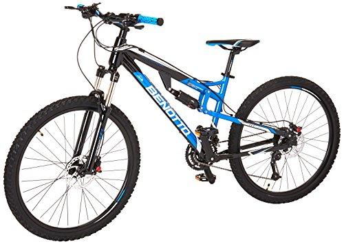 Benotto DS-900 Bicicleta de Aluminio, Frenos DDH, color Azul/Negro, Medio