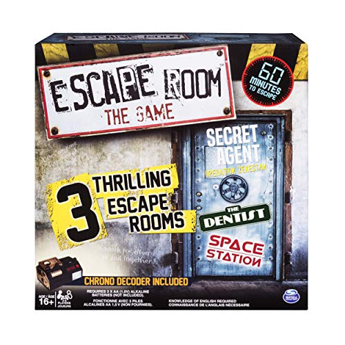 Spin Master Games - Escape Room The Game with 3 Thrilling...