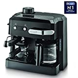 De'Longhi BCO 320 Combi - Pump Espresso & Drip Coffee Maker 1700W (Black)