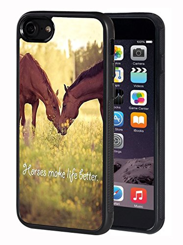 iPhone SE 2020/iPhone 7/iPhone 8 Case,Horse Theme TPU Durable Case for Apple iPhone SE 2020/iPhone 7/iPhone 8 4.7 inch