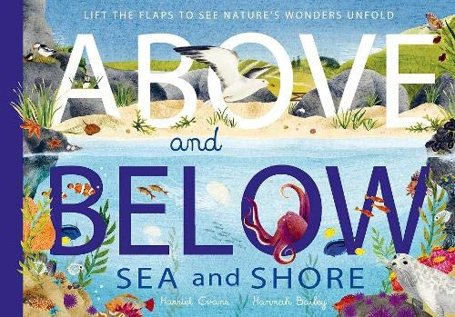 Above and Below: Sea and Shore: Lift the flaps to see nature's wonders unfold