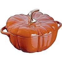 Staub Cast-Iron 3.5 Qt Pumpkin Cocotte