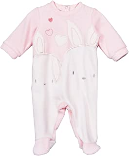 For Beloved Children Newborn Infant Baby Girls Popover Cotton Rompers Footies Bodysuits Easter Bunny Playwear Outfits