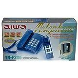 Telefono AIWA TN-F205 Telefono Fijo + Telefono INHALAMBRICO 12 Canales 20 Memorias