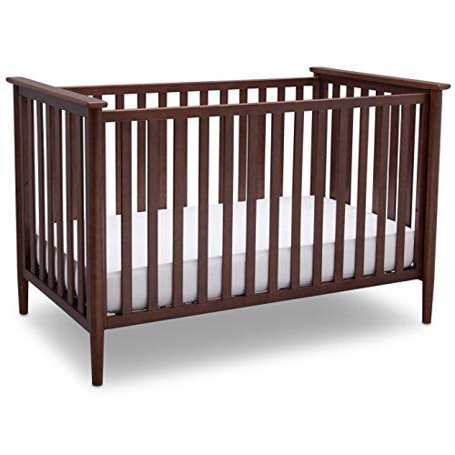 Delta Children Grayson 3-in-1 Convertible Baby Crib, Walnut