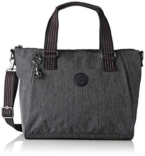 Kipling - Amiel, Bolsos maletín Mujer, Azul (Active Denim)