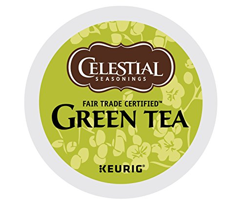 Celestial Seasonings Green Tea, Single-Serve Keurig K-Cup Pods, 72 Count