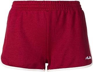 FILA Women's Paige Jersey Shorts, (Rhubarb), Small