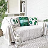 Sofier Couch Cover Sofa Covers for 3 Cushion Couch Loveseat Sofa Slipcovers Geometrical Sofa Covers for Living Room Sectional Couch Covers Couch Protector (White Grid,70'X118',Large)
