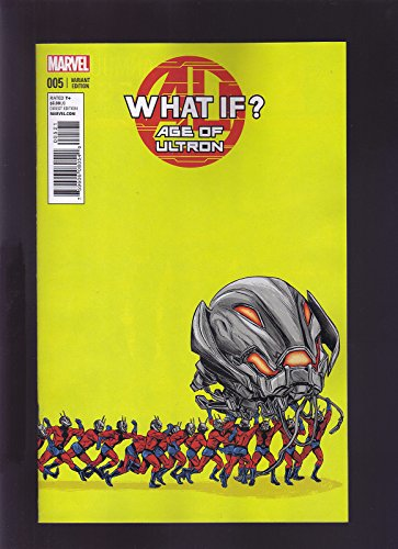 MARVEL COMICS AGE OF ULTRON WHAT IF #5 RETAILER INCENTIVE...
