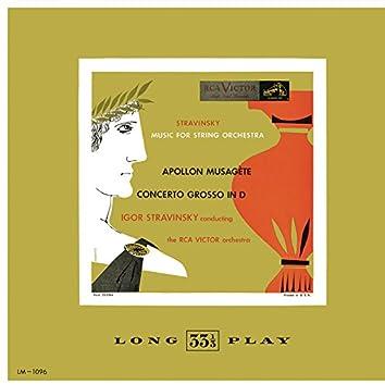 "Stravinsky: Apollon musagète - Concerto in D Major ""Basle Concerto"""