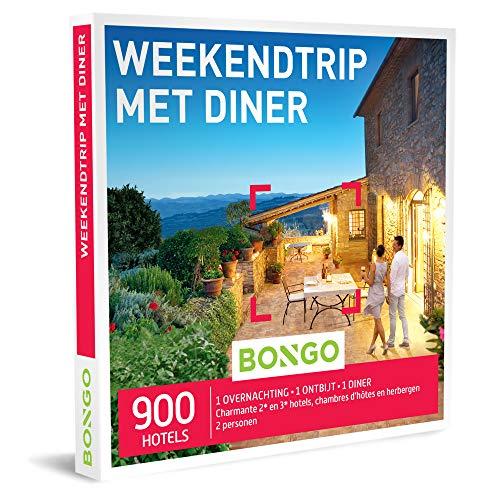 Bongo Bon - Weekendtrip Met Diner | Cadeaubonnen Cadeaukaart cadeau voor man of vrouw | 900 comfortabele hotels