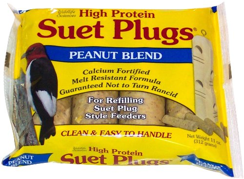 Peanut Blend Suet Plug 11 oz + Freight West of Rockies Only