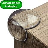 maliveo Eckenschutz und Kantenschutz - transparent aus Kunststoff für...