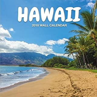 Hawaii 2018 Wall Calendar: Hawaii Photography, 8.5 x 8.5, Mini Calendar, Wall Calendar (Cute Calendar) (Hawaii Calendars)