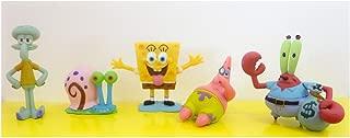 SPONGEBOB 6 PACK SERIE 2-Mini Figura Collezione Set in confezione regalo