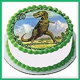 CSD Tortenaufleger Dinosaurier 03, Zuckerpapier Tortenbild, Geburtstag,Fototorte