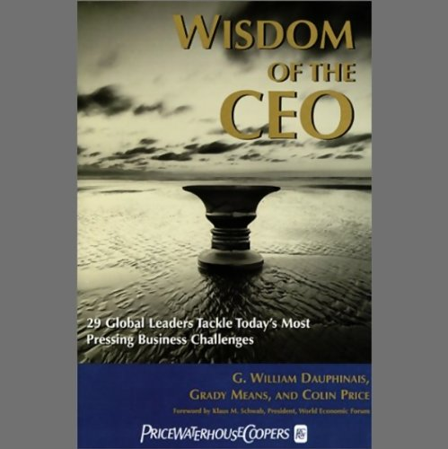 Wisdom of the CEO audiobook cover art