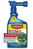BioAdvanced 704100B Bermuda Grass Weed Killer Bermudagrass Control for Lawns, 32 oz, Ready-To-Spray