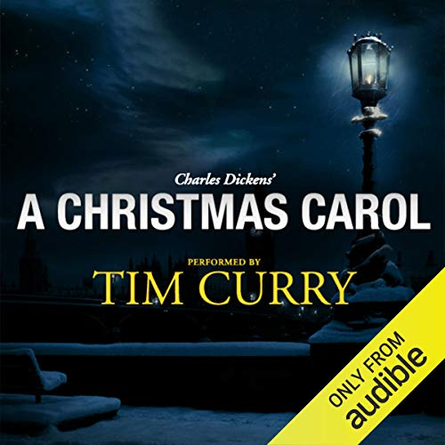 『A Christmas Carol: A Signature Performance by Tim Curry』のカバーアート