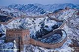 La Gran Muralla China 1000 Piezas Puzzles para Adultos niños educativos Juguetes HD Puzzle Creativo Divertido Juego Familiar Puzzle