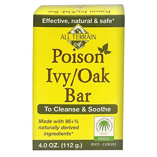 All Terrain naturel Poison Ivy Oak Bar Soap