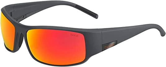 Bolle 12574 King Matte Cool Grey Sunglasses, Fire