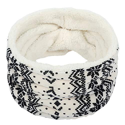 LiuliuBull W Gruesas Bufandas de Invierno para Las Mujeres Anillo Bufanda de Cuello Caliente Accesorios Femenino mas Terciopelo Bufandas Mujeres Hombres Grueso (Color : 21, Size : One Size)