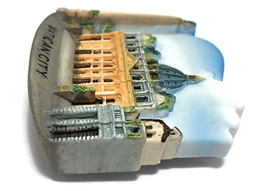 St. Peter's Basilica Vatican City Italy, Souvenir Thailand 3d Resin TOY Fridge Magnet
