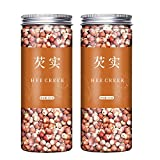 Hee Creek Gorgon 500g(250g*2)17.6oz Chinese Herb Dried Foxnut Gorgon Euryale Seed Natural food No added Qian Shi 芡实 鸡头米