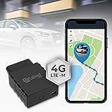 SALIND 4G OBD GPS Tracker Auto, Fahrzeuge & LKWs OBD2 Stecker - Peilsender Auto mit Ortung - Diebstahlschutz für Fahrzeuge- Online weltweit Echtzeit Tracking mit App- ohne Aufladen
