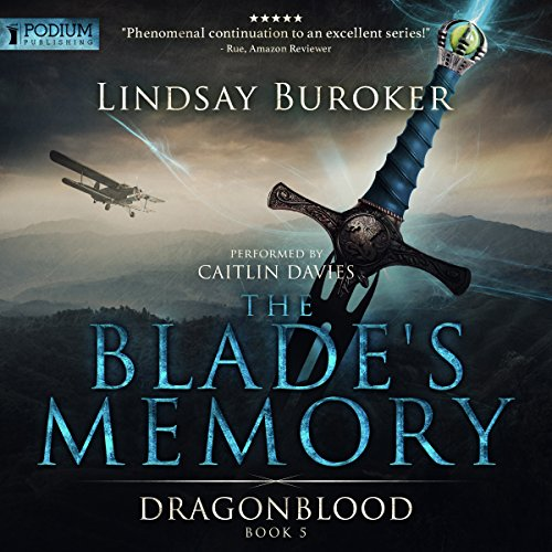 The Blade's Memory audiobook cover art