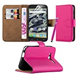 For Pixi 4 (4.0 Inch) 3G 4034X Case - Wallet Book [Stand