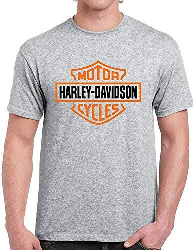 Maglietta da uomo Harley Davidson da motociclista, da motociclista Nero XXL