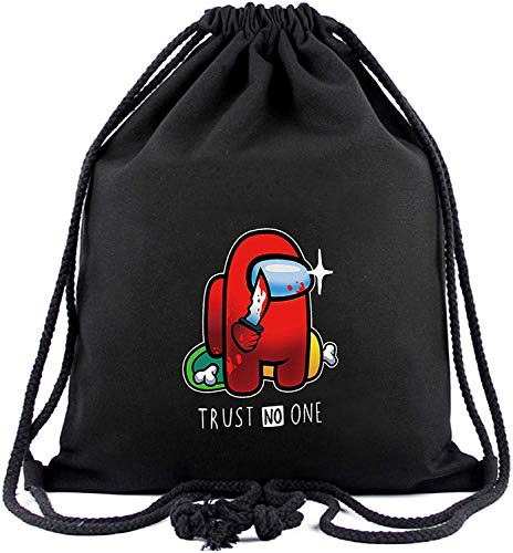 KINGAM Drawstring Bags for Women Girls Men Boys Youth-Red Knife Among