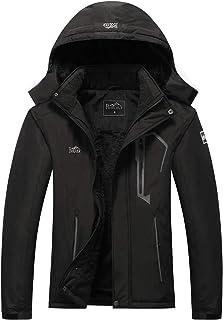 Women's Ski Jacket Warm Winter Waterproof Windbreaker...