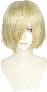 Cfalaicos Yuri!!! on Ice Yuri Plisetsky Cosplay Wig Synthetic Hair Anime Cos Wigs