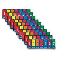 Nasco TB25013T Place Value to Millions/Decimal Tabletop Student Flip Chart Set 3-1/2 x 11-3/4 Grades 3-6 (Set of 10) [並行輸入品]
