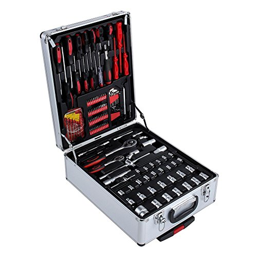 Cocoarm 399 Stück Werkzeugset-Koffer,...