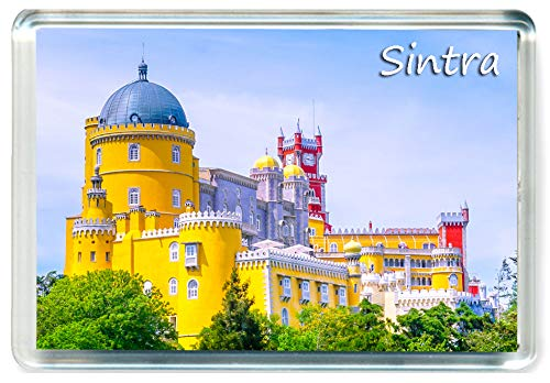 DreamGirl I346 Sintra Jumbo Imán para Nevera Portugal Travel Fridge Magnet