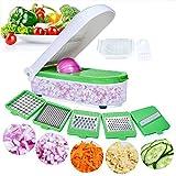 XKMY Ralladores para cocina Cortador de verduras Dicer Accesorios de cocina Mandolina Cortador de patata queso zanahoria rallador de frutas pelador de cocina herramienta