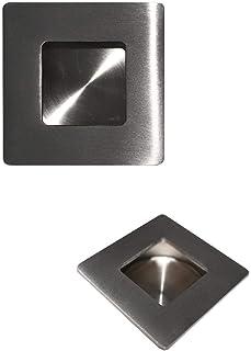 5 x meubelgreep 5 cm roestvrij staal vierkante ladegreep keukengreep kastgreep verzonken greep