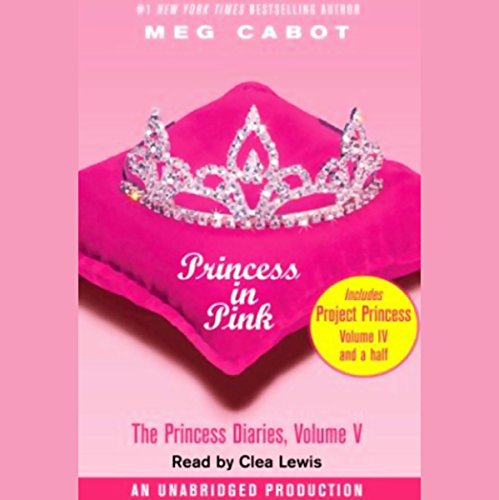 Princess in Pink audiobook cover art
