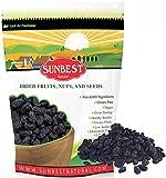 SUNBEST NATURAL Seedless Black Jumbo Raisins in...