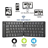 Vapechaser Tastiera Bluetooth pieghevole mini tastiera pieghevole wireless Tastiere portatili Tastiera tascabile per Windows iOS Android Smartphone Samsung iPhone Tablet iPad