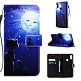 Lomogo Leather Wallet Case for Xiaomi Redmi Note 7/Note 7Pro/Note 7S with Stand Feature Card Holder Magnetic Closure, Shockproof Flip Case Cover for Xiaomi Redmi Note7 Pro - LOYBO450507 L7