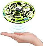 Wghz UFO Mini Drone Niños Helicóptero de Mano RC Inducción infrarroja Control Remoto Aviones voladores Juegos Regalos para niños Niñas Adultos Juguetes de Pelota de jardín para Interiores y exter